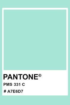 Pms Colour, Mint Color, Paint Swatches, Color Swatches, Pantone Matching System, Acid House, Color Psychology, Color Pallets, Color Theory