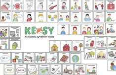 kesy taulukko Work Task, Study Skills, Pre School, Kindergarten, Playing Cards, Classroom, Teacher, Holiday Decor, Professor