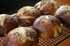 Pretzle bread, I love this bread!  We will take camping for yummy quick sandwiches