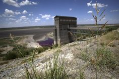 Drought in San Angelo Texas nearly dries out lake - PhotoBlog