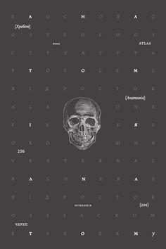 cover / Anatomy book. Osteology by Irene Shkarovska