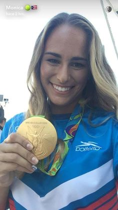 Monica Puig became the first Olympic individual gold medalist in Puerto Rico's history