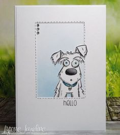 FS529 Woof Hello by Ruby-dooby-doo - Cards and Paper Crafts at Splitcoaststampers