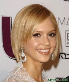 Short Hairstyles For Straight Hair 2014 | StyleSN