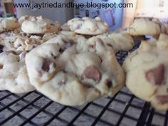 Jay Tried and True: Double Peanut Butter and Milk Chocolate Chip Cookies
