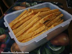 http://thesouthernladycooks.com/2013/01/10/southern-cheese-straws/