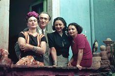Frida, Nickolas Murray, Rose Covarrubias, and Christina Kahlo Coyoacan, Mexico