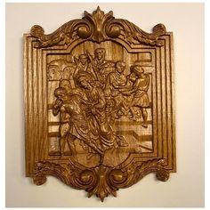 Stations of the Cross Collection Wood Carving Wall Hangings, Set 1-14,... ($339) ❤ liked on Polyvore featuring home, home decor, wall art, christmas gift, cross wall hanging, wooden wall art, wood home decor, wooden home accessories and wooden cross wall hanging