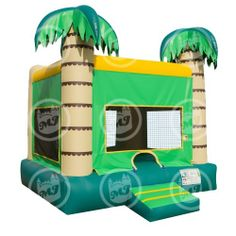 Palm Tree Bounce House by Magic Jump - Bounce Houses Now