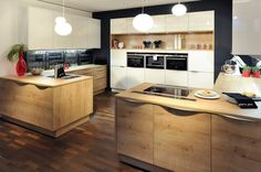 Kitchen - oak / EWE Source by milmartens Country Style Furniture, Modern Furniture, Kitchen Interior, Kitchen Decor, Kitchen Ideas, China Cabinet Makeovers, Küchen Design, Interior Design, Rustic Coat Rack