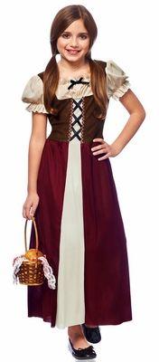 Child's Renaissance Peasant Maiden Costume