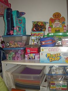 Prepared LDS Family: How to Organize Kids Toys, and Arts & Craft Supplies