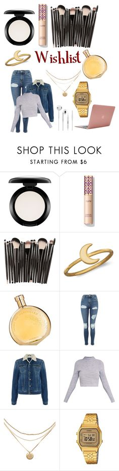 """""""2nd Wishlist"""" by spaceemo ❤ liked on Polyvore featuring MAC Cosmetics, BillyTheTree, Hermès, Topshop, Pepe Jeans London, Casio and Incase"""