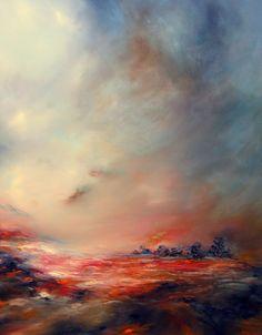 Romantisme et dynamisme, partez à la découverte de l'univers artistique bouleversant et subtile de l'artiste peintre anglaise Alison Johnson