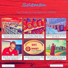 My Target journey begins in Milpitas #170 SOLEMAN STUDIOS Managing People, Store Manager, Dog Barking, My Destiny, Team Leader, My Dad, No Time For Me, Life Lessons, Branding Design