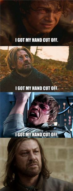A bumch of Game of Thrones vs Star Wars memes!
