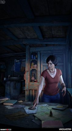 Uncharted The Lost Legacy : Title Screen and Cine, Rogelio Olguin Nathan Drake, Indiana Jones, Uncharted Series, Chloe Uncharted, David Beckham Photos, Fictional Heroes, Playstation Games, Gaming Wallpapers, Fandom