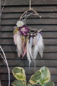 Crescent Moon Purple fairy Dreamcatcher by NanepashemetCr8tions