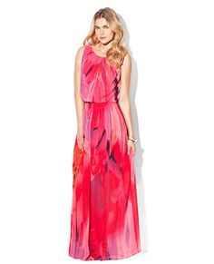 MAXI WITH LOW DRAPED BACK
