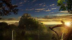 Photoshop CC Manipulation Tutorial Sunset Castle (포토샵 CC 합성 강좌 Sunset Ca...