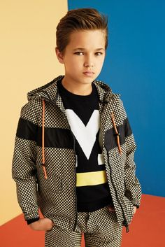 MSGM Kids SS2016 #msgmkids #ss2016  For the Latest in Boys Fashion + Style + Trends + Talent go to www.boysstylemagazine.com #boysstylemag @bosystylemag