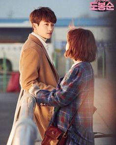 Korean Drama Movies, Korean Actors, Korean Dramas, Strong Girls, Strong Women, Kdrama Wallpaper, Astro Wallpaper, Strong Woman Do Bong Soon Wallpaper, Ahn Min Hyuk