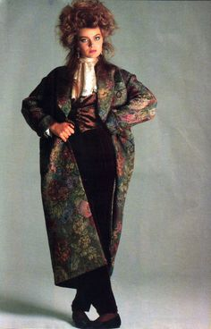 Francesco Scavullo for Harper's Bazaar, August 1985. Fashion by Ralph Lauren.