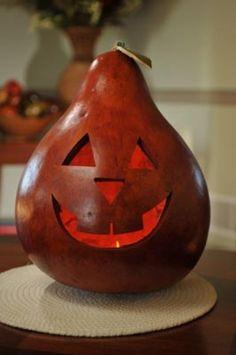 Traditional Jack Large Lit Gourd