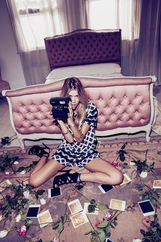 1145 items - Get some new. Check out the latest new in fashion at Missguided and shop it like its hot. Fashion Shoot, Look Fashion, Editorial Fashion, High Fashion, Paris Fashion, Editorial Hair, Trendy Fashion, Ideas Fotos Instagram, Foto Instagram