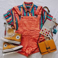 Style Outfits, Indie Outfits, Teen Fashion Outfits, Retro Outfits, Cute Casual Outfits, Vintage Outfits, Summer Outfits, Aesthetic Fashion, Aesthetic Clothes