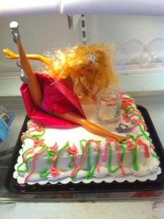 hen night cake they totally caught me off guard