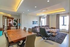 Serviced Apartment for Rent – 2 Bedrooms BKK1  Located in BKK1 Fully furnished 2 Bedrooms, 2 Bathrooms Large living area Modern design Western style Kitchen Private Balcony Pool & Gym