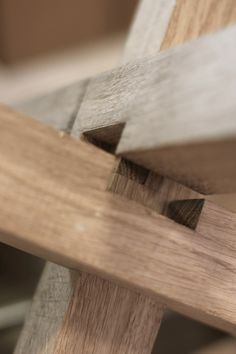 """Head & Haft — """"Another sneak peak of a bit of joinery from a. Furniture Plans, Kids Furniture, Furniture Making, Furniture Design, Popular Woodworking, Teds Woodworking, Woodworking Projects, Upcycle Home, Diy Shoe Rack"""