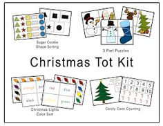 LAWTEEDAH: Christmas Tot Kit
