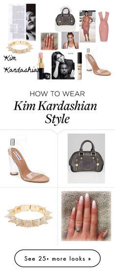 """Kim Kardashian"" by inspiredbyart345 on Polyvore featuring Atsuko Kudo, Steve Madden, Louis Vuitton and CC SKYE"