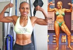 Ernestine Shepherd Diet And Workout Secrets: 80 Year Old Bodybuilder Rocks Bikini Body