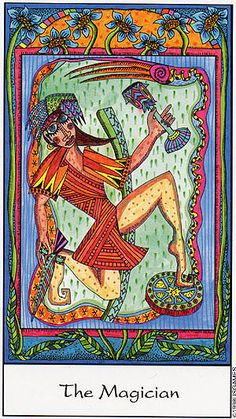The Magician - Tarot of the Trance