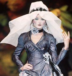 Carla Bruni at Vivienne Westwood Fall Winter 1995/96