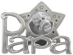 Imagine the smile on your proud grandpa's face when he sees this Papa Star Icon Frame with his favorite photo of the two of you! Family Picture Frames, Family Pictures, Cool Gifts, Unique Gifts, Grandpa Gifts, Stars, Smile, Face, Family Photos