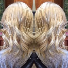 All over blonde. Dollhouse Salon Red Bluff Ca