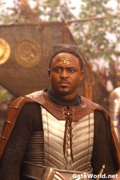 Wayne Brady -worst acting on SG1? An actor known for comedy, tries to do a serious role as a Gould's First Prime.
