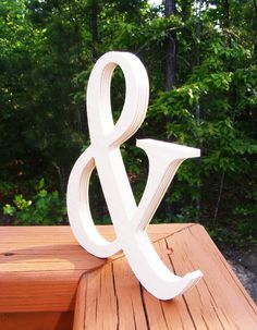 "10"" DIY Wooden Ampersand, Photography , DIY, Wedding Decor , Engagement, Wooden Alphabet Letters, Photography prop"
