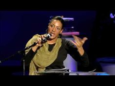 The phenomenal and talented Sarah Jones, TED talk. Must watch.  She's incredible.