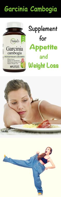 Garcinia Cambogia Supplement to Suppress Appetite and Lose Weight - Wellness Suplement