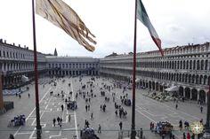 Veneza- Praça São Marcos www.aquelelugar.com.br #italia #veneza #aquelelugar