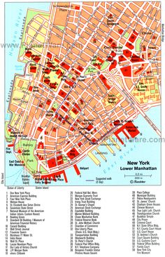 Tourist map attractions new york pdf