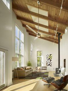 Die Holzdecke - die perfekte Deckengestaltung - Architektur ...