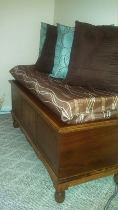 How To Make A Hope Chest Cushion