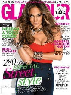 Glamour España abril 2012 con Jennifer Lopez. Vota tu portada favorita: http://www.deli-cious.es/index.php/abrila12