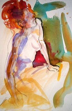 Art Original, Oeuvre D'art, Les Oeuvres, France, Artwork, Artist, Painting, Sketch, Women